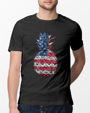 Patriotic Pineapple 4th of July America USA Classic T-Shirt lifestyle-mens-crewneck-front-13