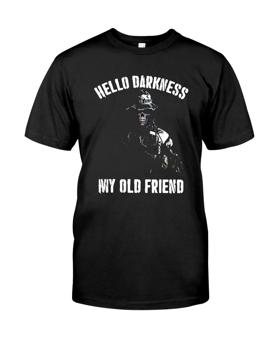 Veteran Hello darkness my old friend veteran Classic T-Shirt