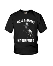 Veteran Hello darkness my old friend veteran Youth T-Shirt thumbnail