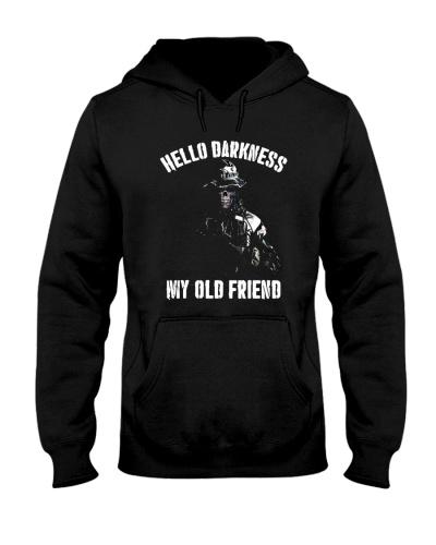 Veteran Hello darkness my old friend veteran