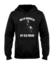 Veteran Hello darkness my old friend veteran Hooded Sweatshirt thumbnail