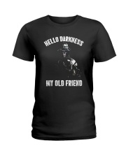 Veteran Hello darkness my old friend veteran Ladies T-Shirt thumbnail
