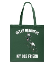 Veteran Hello darkness my old friend veteran Tote Bag thumbnail