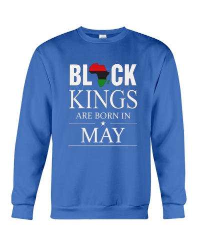 Black kings are born in May Africa Flag