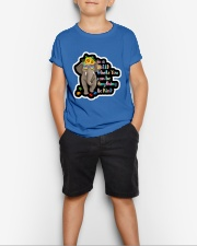 In a world where you can be anything be kind  Youth T-Shirt lifestyle-youth-tshirt-front-1