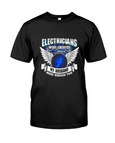 Electricians My Husband Need Heroes Too