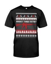 Whiskey Tango Foxtrot Christmas Classic T-Shirt thumbnail