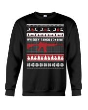 Whiskey Tango Foxtrot Christmas Crewneck Sweatshirt thumbnail