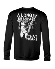 A Long Distance Relationship  Crewneck Sweatshirt thumbnail
