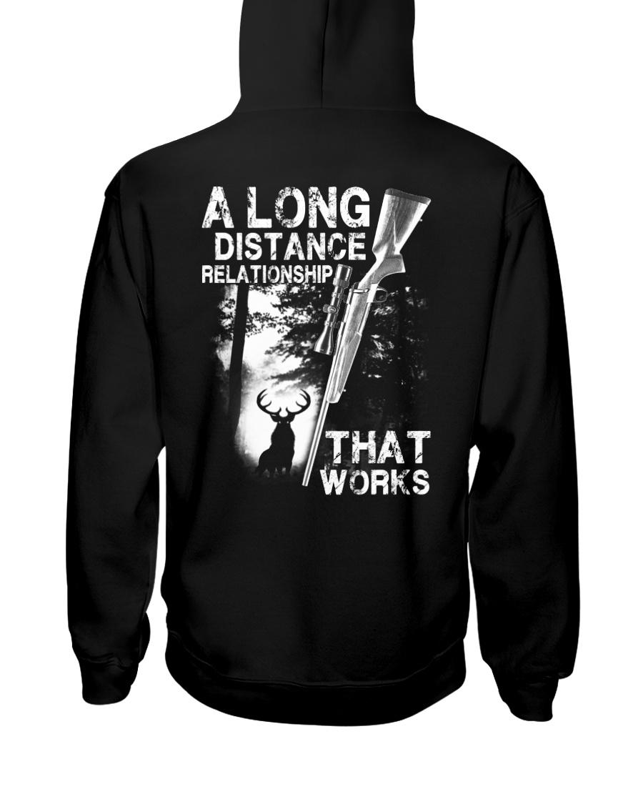 A Long Distance Relationship  Hooded Sweatshirt
