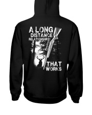 A Long Distance Relationship  Hooded Sweatshirt back