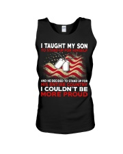 I taugh my son Unisex Tank tile