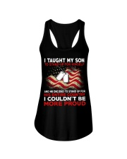 I taugh my son Ladies Flowy Tank tile