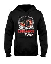 Lineman's Wife Hooded Sweatshirt thumbnail