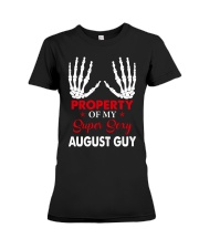AUGUST GUY  Premium Fit Ladies Tee thumbnail