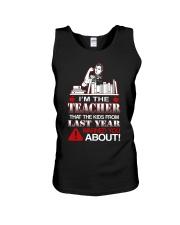 I'm The Teacher Unisex Tank thumbnail