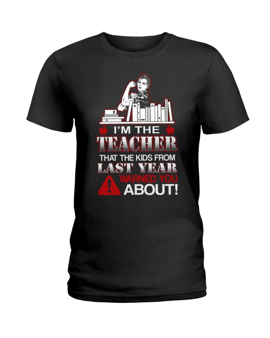 I'm The Teacher Ladies T-Shirt