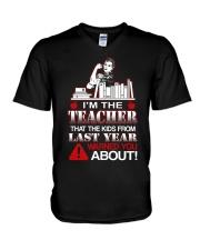 I'm The Teacher V-Neck T-Shirt thumbnail
