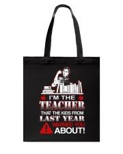 I'm The Teacher Tote Bag thumbnail