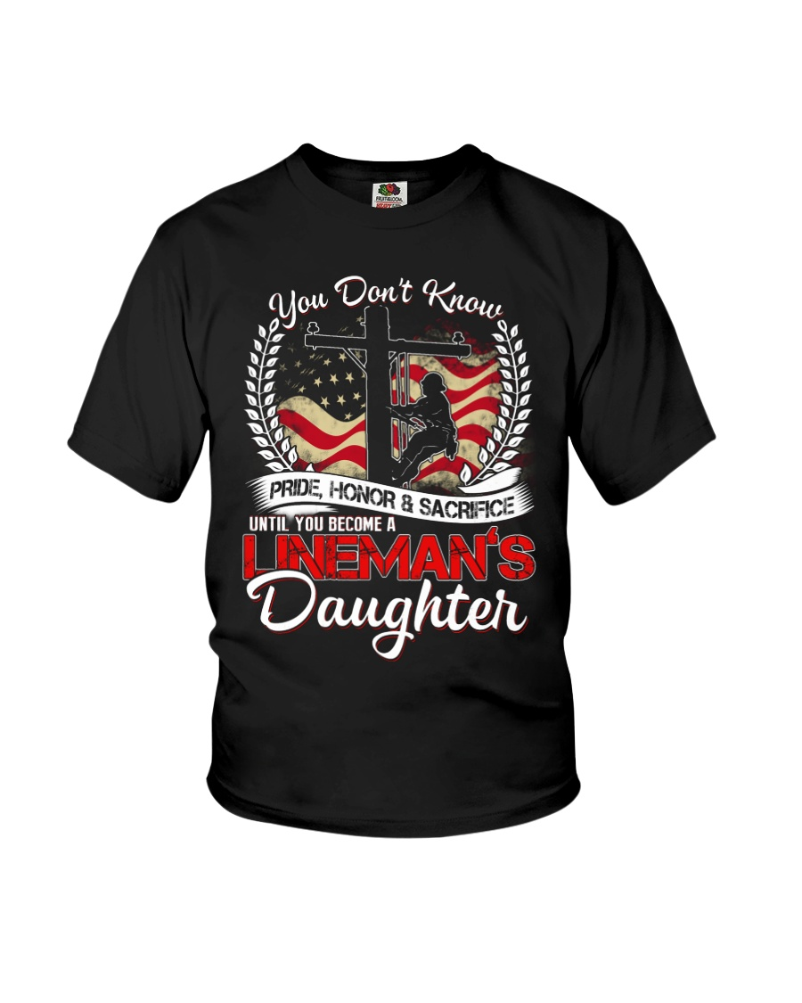 Lineman's Daughter Youth T-Shirt