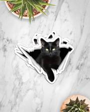 Black cat Crack Sticker - 8 pack (Horizontal) aos-sticker-8-pack-horizontal-lifestyle-front-06