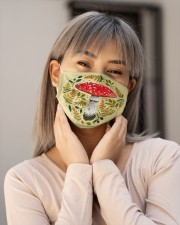 Mushroom Face Mask - Nature Lovers - PawAnimal Cloth face mask aos-face-mask-lifestyle-17