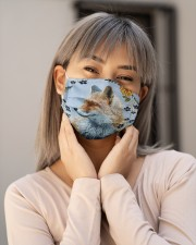 FOX Flower Face Cloth face mask aos-face-mask-lifestyle-17