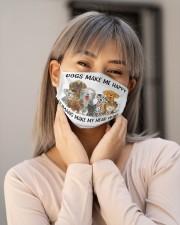 Dog make me happy Cloth face mask aos-face-mask-lifestyle-17