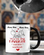 You're my Favorite cardio workout Color Changing Mug ceramic-color-changing-mug-lifestyle-76