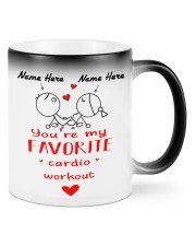You're my Favorite cardio workout Color Changing Mug front