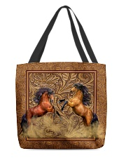 Couple Horse 2 All-over Tote front