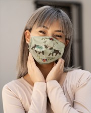 DEER LOVE FACE Cloth face mask aos-face-mask-lifestyle-17