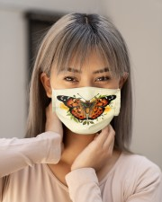 Butterfly Face Mask for Animal Lovers - PawAnimal Cloth face mask aos-face-mask-lifestyle-18