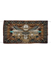 OWL Native American Patterns Cloth face mask front