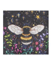 Bee Face Mask - Animal Love - PawAnimal Cloth face mask aos-face-mask-coverlet-lifestyle-front-02