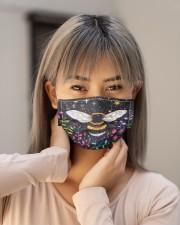 Bee Face Mask - Animal Love - PawAnimal Cloth face mask aos-face-mask-lifestyle-18
