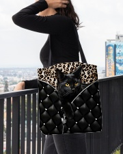 Black cat 2 All-over Tote aos-all-over-tote-lifestyle-front-05