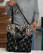 Black cat 2 All-over Tote aos-all-over-tote-lifestyle-front-10
