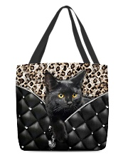 Black cat 2 All-over Tote back