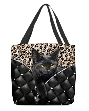 Black cat 2 All-over Tote front