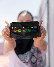 NOT A PHASE FACE Cloth face mask aos-face-mask-lifestyle-07