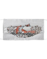 Fox Face Cloth face mask front
