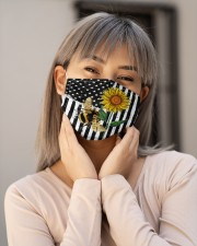 BEE FLAG FACE Cloth face mask aos-face-mask-lifestyle-17