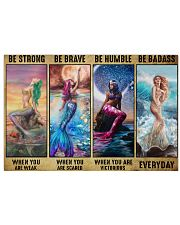 Be Strong When You Are Weak 24x16 Poster front