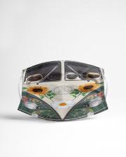 Pug Peace Bus  Cloth face mask aos-face-mask-lifestyle-22