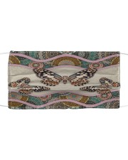 BUTTERFLY BOHO FACE Cloth face mask front