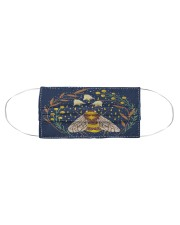 BEE NIGHT FLOWER FACE Cloth face mask aos-face-mask-coverlet-lifestyle-front-01