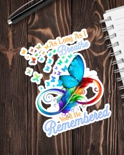 As long as i breathe you will be remembered Sticker - Single (Vertical) aos-sticker-single-vertical-lifestyle-front-05