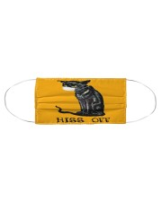 Black Cat HISS OFF  Cloth face mask aos-face-mask-coverlet-lifestyle-front-01