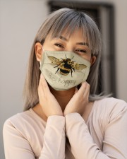 BEE HAPPY Cloth face mask aos-face-mask-lifestyle-17